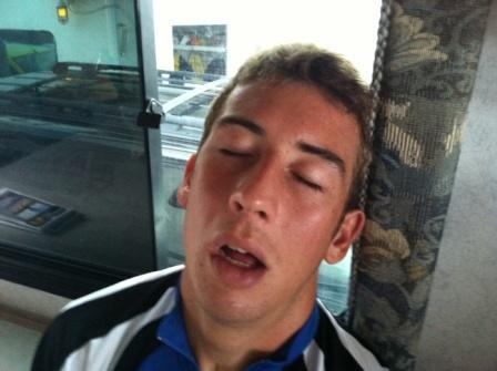 hadrian tired